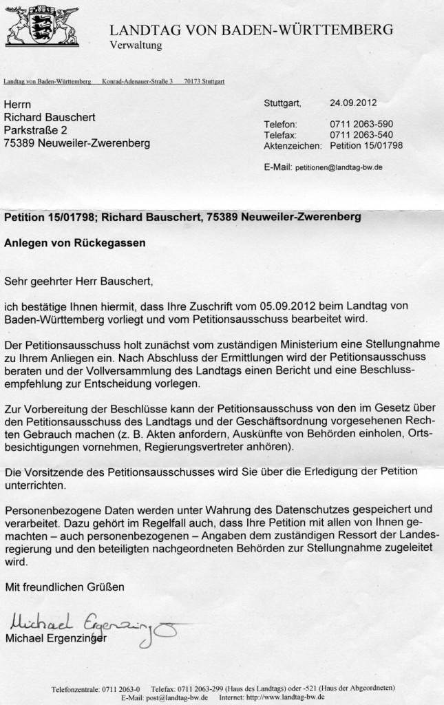 2012-09-12 - 1stesAntwortschreiben aufgrund der Petition